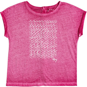 Roxy Summertime Happiness Camiseta Mujer, cerise